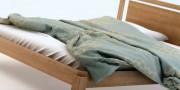 łóżka z litego drewna - łóżko ROOFIO