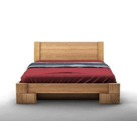 Łóżko z pojemnikiem na pościel VERON MBox