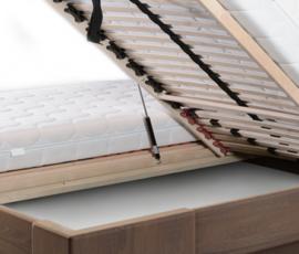 Łóżko z pojemnikiem na pościel w systemie MBox