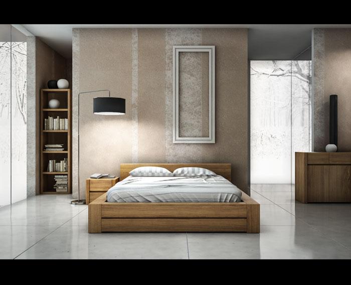 łóżko 014 aranżacja