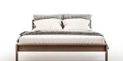 łóżko LAVERTA z litego drewna
