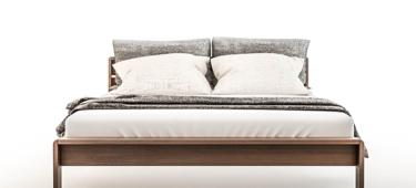 Aranżacja małej sypialni – łóżko z pojemnikiem