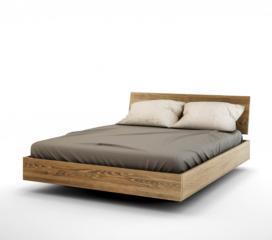Łóżko z pojemnikiem na pościel BALDUCZI MBox