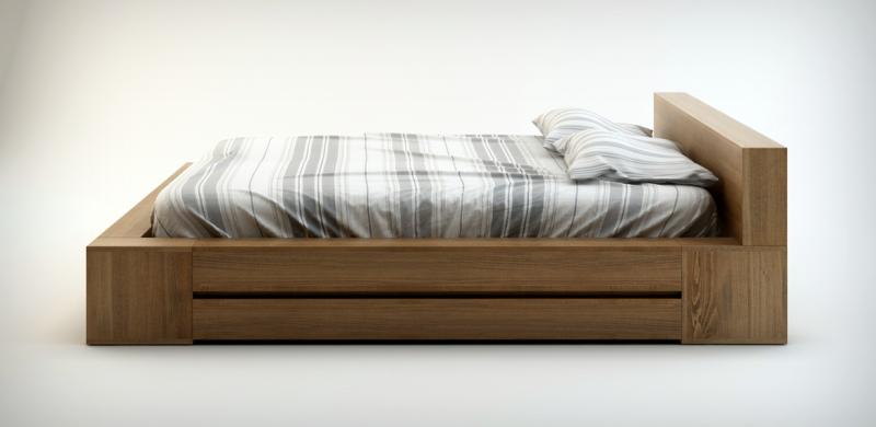 łóżko drewniane - sposób na spokojny sen