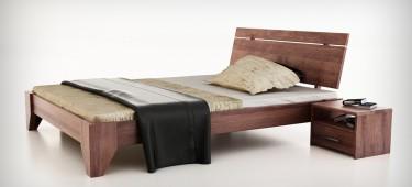 Drewniane sypialnie
