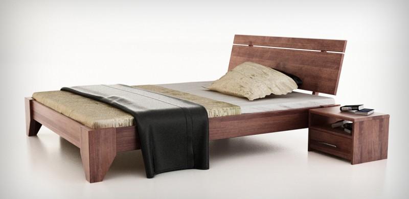 drewniane meble do sypialni Arbora