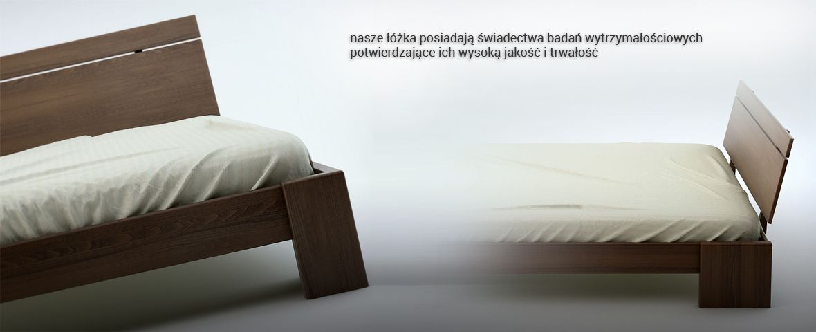 Nasze łóżka posiadają badania wytrzymałościowe potwierdzające ich niebywałą trwałość