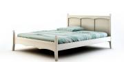 łóżko drewniane AGIE - romantyczna sypialnia