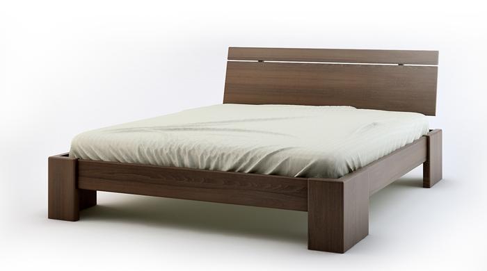 drewno bukowe - łóżko z drewna bukowego Arbora