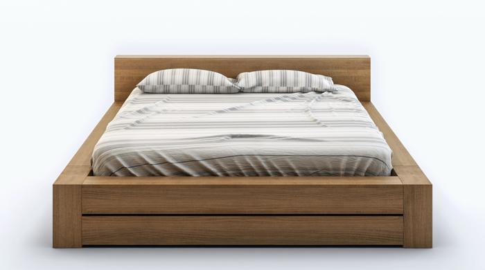 łóżko do sypialni drewniane Arbora