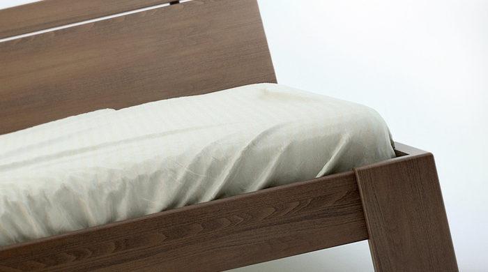 łóżko z litego drewna do sypialni bukowe BENITO CR