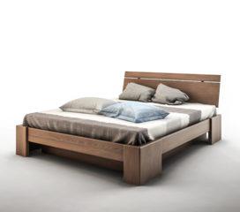 Łóżko z pojemnikiem na pościel BENITO MBox