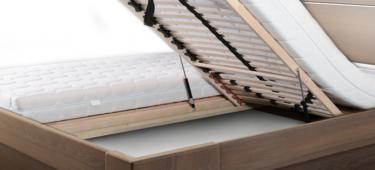 Łóżka z pojemnikiem na pościel w systemie MBox