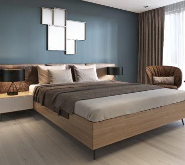 Łóżko drewniane z pojemnikiem pod stelażem czy szufladami – które wybrać?