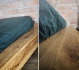 Lewitujące łóżko z pojemnikiem na pościel 014_LIFT Mbox