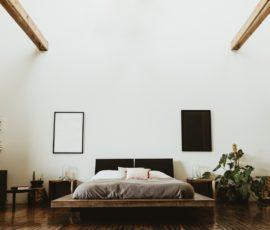 Minimalizm w sypialni i modne rozwiązania